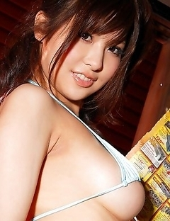 Harumi Asano has got gentle fingers and sweet boobs