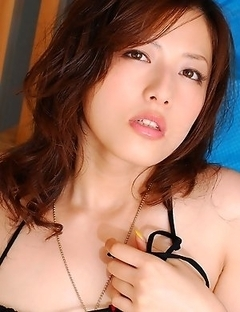 Think about Meisa Hanai's big boobs when seeing these pics