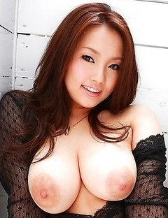 Smile of an Asian coed Rika Aiuchi is looking so innocent